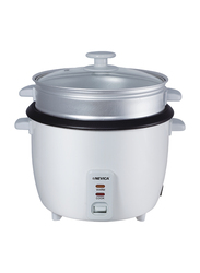 Nevica 1.8L Rice Cooker, 700W, NV-602 RC, White