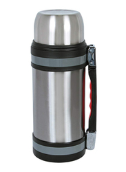 Nevica 1.8 Ltr Stainless Steel Thermos Flask, NV-6004, Silver