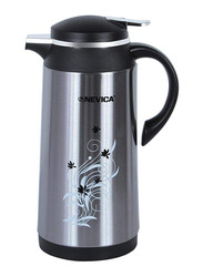 Nevica 1.3 Ltr Stainless Steel Vacuum Flask, NV-6063, Silver