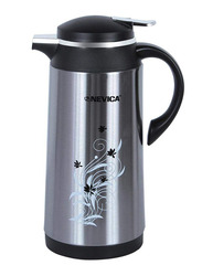 Nevica 1.6 Ltr Stainless Steel Vacuum Flask, NV-6064, Silver