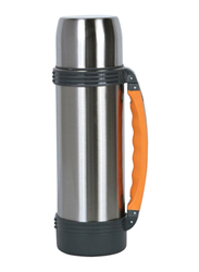 Nevica 1.2 Ltr Stainless Steel Thermos Flask, NV-6002, Silver