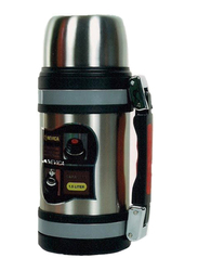Nevica 1.5 Ltr Stainless Steel Coffee Thermos Flask, NV-6026, Silver