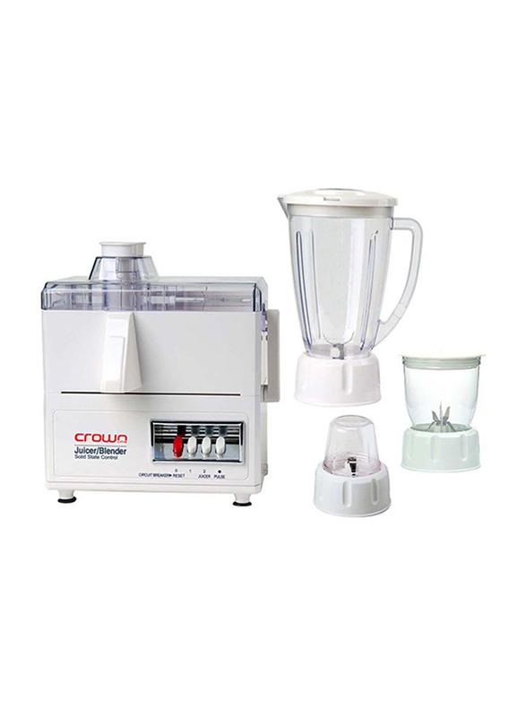 Nevica Mill Mincer 4 in 1 Blender Juicer, 600 W, NV-647 BG, White