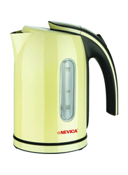 Nevica 1.7L Cordless Electric Kettle, 2200W, NV-353CK, Yellow