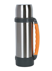 Nevica 1 Ltr Stainless Steel Thermos Flask, NV-6001, Silver