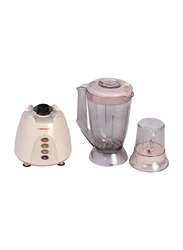 Nevica 1.5L 2 in 1 Blender, 400 W, NV-642 BG, Clear/White