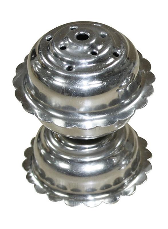 Raj 4cm Stainless Steel Aggarbatti Stand, Silver