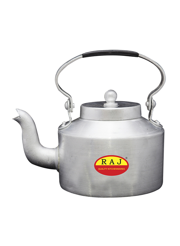 Raj 2 Ltr Aluminium Kettle 14, DAK014, Silver