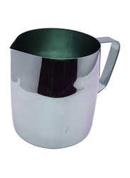 Raj 14oz Stainless Steel Catering Milk Cup Frothing Pitcher, CMCF14, 9x7 cm, Silver