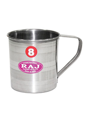 Raj 12cm Stainless Steel Silver Touch Mug, STM012, Silver