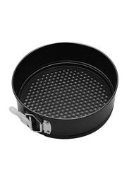 RK 28cm Non Stick Round Clip Baking Pan, 28x28x6.5 cm, Black