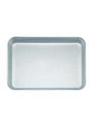 Chefset 42cm Aluminium Rectangle Baking Pan, CS1137, 42x30.5x4 cm, Silver