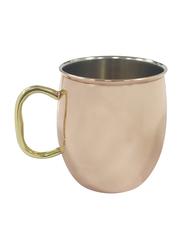 Raj 9.5cm Steel Moscow Mule Copper Plated Mug, SMMM01, Brown/Gold