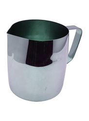 Raj 36oz Stainless Steel Catering Milk Cup Frothing Pitcher, CMCF36, 9x12.5 cm, Silver
