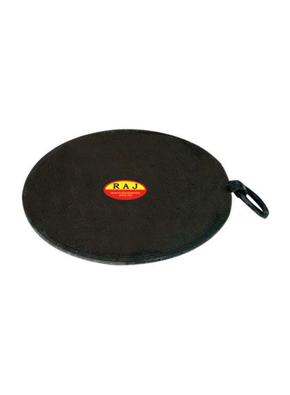 Raj 29cm Iron Ring Tawa, IRT012, Black