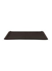 Dinewell 12-inch Melamine Nobility Platter Plate, DWMP006B, 31x15 cm, Black