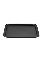 RK 37cm Non Stick Rectangle Baking Tray, 37x27x2 cm, Black
