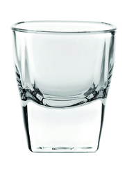 Ocean 55ml 12-Piece Set Plaza Shot Glass, P00210, Clear