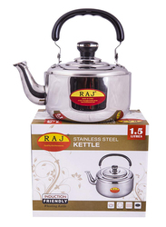 Raj 10 Ltr Stainless Steel Tea Kettle, ZTK010, Silver