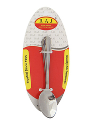 Raj 3-Piece Stainless Steel Pearl Tea Spoon Set, PC0007, Silver