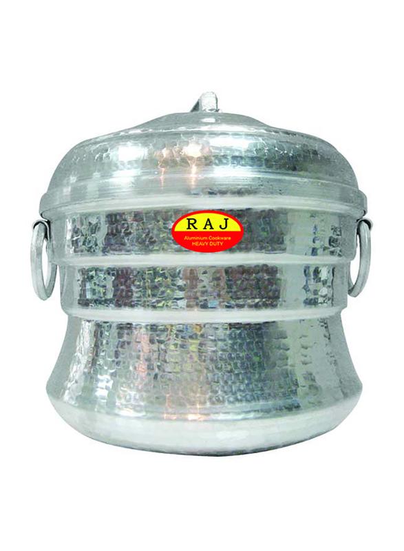 Raj 11-Iddly Aluminium Iddly Pot, AIP011, Silver