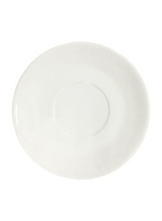 Dinewell 2-Piece Saucer/Soup Liner Set, DWP5009W, 6-inch, White
