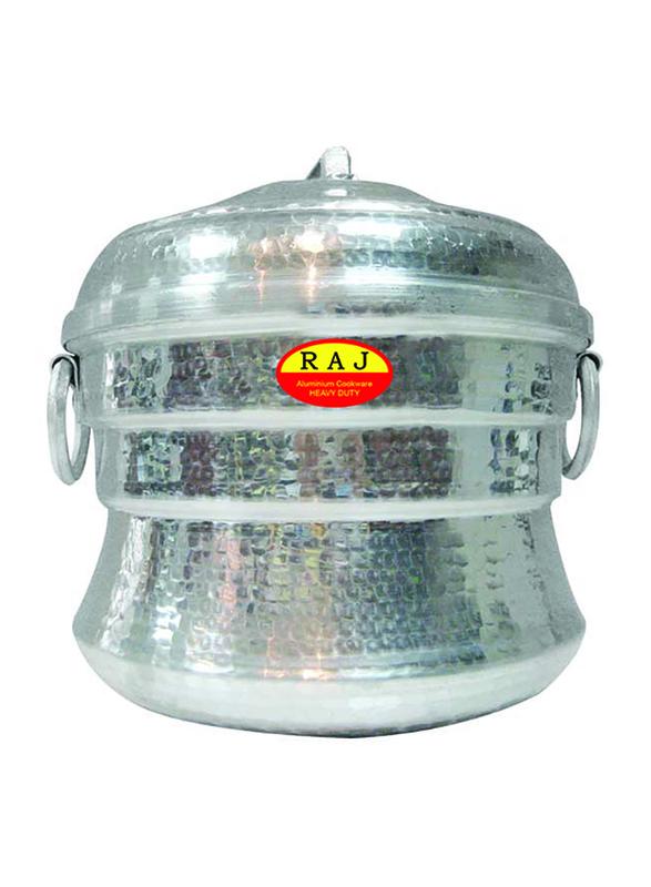 Raj 39-Iddly Aluminium Iddly Pot, AIP039, Silver