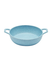 Dinewell 5.5-inch Melamine Speckle Serving Bowl, DWMB0164BS, Blue