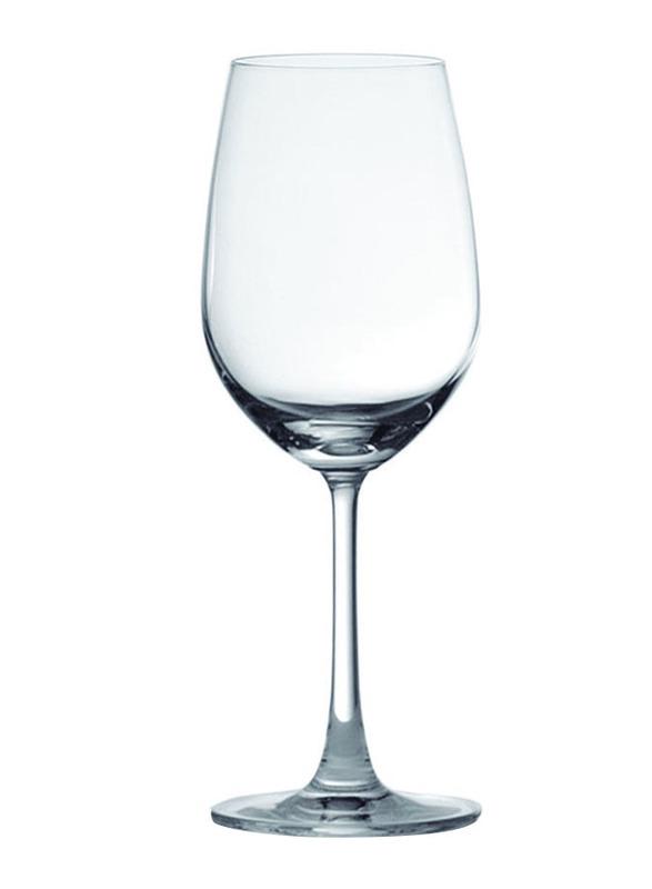 Ocean 350ml 6-Piece Set Madison White Wine Glass, 015W12, Clear