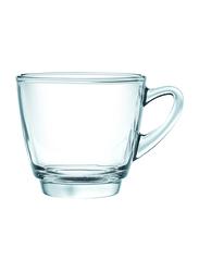 Ocean 245ml 6-Piece Set Kenya Glass Cappuccino Cup, P01641, Clear