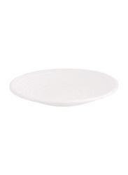 Dinewell 9-inch Matt Dinner Plate, DWMP026W, White