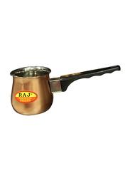 Raj 650ml Copper Coffee Warmer, VCW003, 9x9 cm, Gold