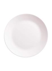 Dinewell 12.5-inch Melamine Buffet Dinner Plate, DWP5109W, White