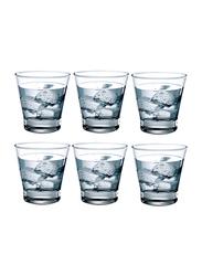 Ocean 345ml 6-Piece Set Studio Rock Water Glass Tumbler, B1611206, Clear