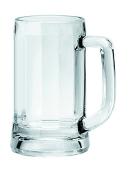 Ocean 355ml 6-Piece Set Munich Glass Beer Mug, P00840, Clear