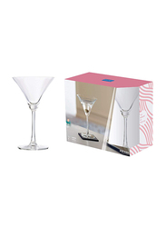 Ocean 285ml 2-Piece Set Madison Cocktail Glass, 015C1002, Clear