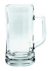 Ocean 640ml 6-Piece Set Munich Glass Beer Mug, P00843, Clear