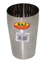 Raj 12cm Steel Lemon Glass, RLG001, Silver