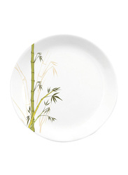 Dinewell 9-inch Green Bamboo Melamine Soup Plate, DWP5081GB, White