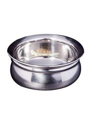 Raj 17.5cm Steel Handi without Lid, TSH003, 17.5cmx7 cm, Silver