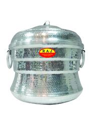 Raj 9-Iddly Aluminium Iddly Pot, AIP009, Silver