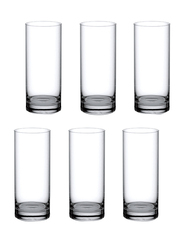 Ocean 340ml 6-Piece Set New York Long Drink Glass, B07812, Clear