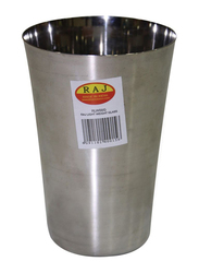 Raj 12cm Steel Light Weight Tumbler Glass, RLW00G, Silver