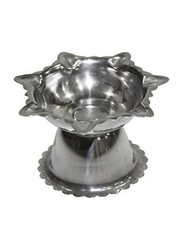 Raj 5cm Stainless Steel Deepak Diya, Silver