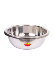 Raj 55cm Stainless Steel Silver Touch Mixing Bowl, MBS055, 55x17 cm, Silver