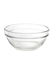 Lucaris 4-inch 6-Piece Glass Stack Bowl Set, P00623, Clear