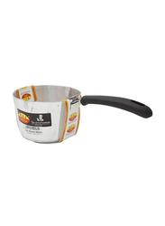 Raj 16cm Medium Aluminium Milk Pan, KMP00M, 16x10 cm, Silver