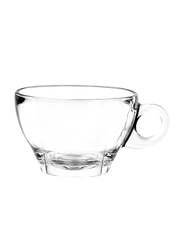 Ocean 260ml 6-Piece Set Caffe Glass Latte Cup, P02443, Clear