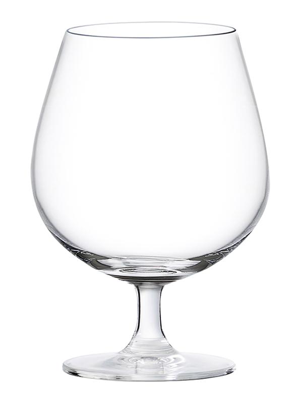 Ocean 650ml 6-Piece Set Madison Cognac Glass, 015N22, Clear