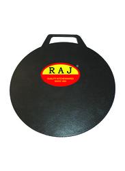 Raj 40cm Non-Stick Arabic Tawa, BBAT40, Black